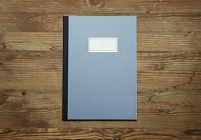 STITCH NOTEBOOK(L)_light blue