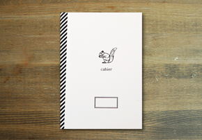 CAHIER NOTE_squirrel