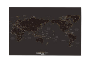 WORLD MAP ver.BLACK