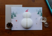 POP UP CARD_snowman