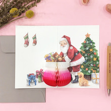 POP UP CARD_SANTA CLAUS
